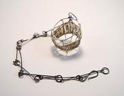 Golden Basket Necklace