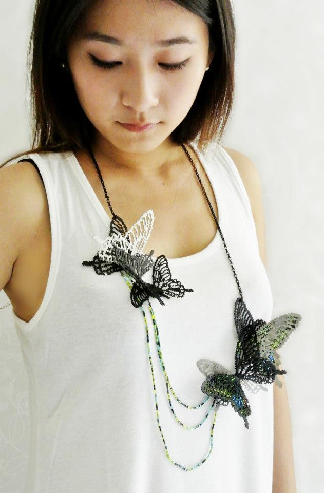 Download Nature- Papilio paris nakaharai (on model)