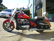 2011 cross roads soft bagger