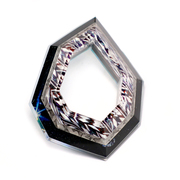 Geometric Brooch - Layered Acrylic