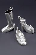tiny shoe charms