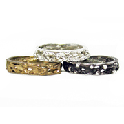 Jill's Rings - Bubbly stacking bands