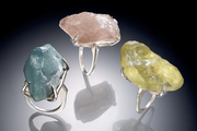 CJ Recht Rough Stone Rings