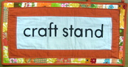 Craft stand @ Bank Sq. Cancelled today due to rain.