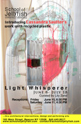 Light Whisperer: Introducing Cassandra Saulter's Work with Recycled Plastics