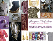 Designer Trunk Show of Jewelry and Clothing
