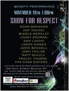 SHOW FOR RESPECT benefit performance