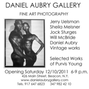 Fine Art Photography Show at the Daniel Aubry Gallery