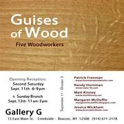 Guises of Wood - Five Woodworkers