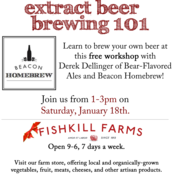 Introduction to Beer Homebrewing: Extract Brewing 101