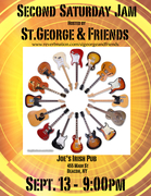 Second Saturday Jam with St.George and Friends!!!