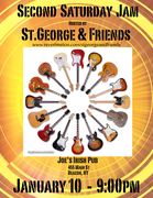 St.George and Friends Second Saturday Jam
