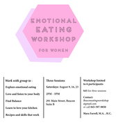 Emotional Eating Workshop for Women.