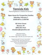 Tioronda Kids Open House