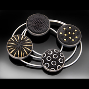 Circles and Orbits Brooch