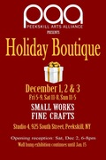Peekskill Arts Alliance Holiday Boutique
