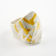 Keum-Boo Cuff Ring