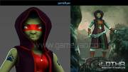 Lotha – Warrior Character Animation Model By GameYan Animation Movie Production Companies