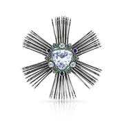 Imperial Overcoat Star Of The Order Of Aksentii Poprishchin