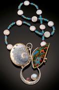 flutterby necklace