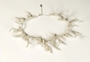Silver Beaded Branches Necklace