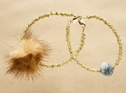 Fragments, fur and pebble