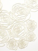 white skin in linen, perfume on my wrist detail