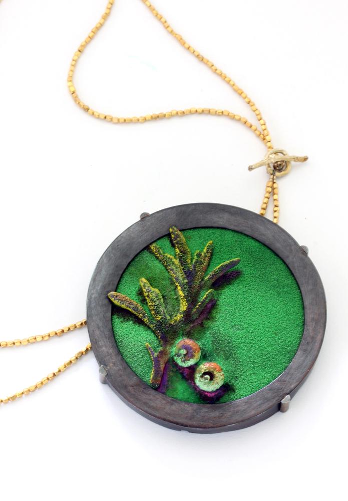 Necklace: Backyard Portrait Spring