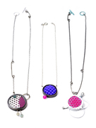 Enamel, Foam Necklaces
