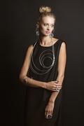 MPR Noir SS15_Swirl Necklace