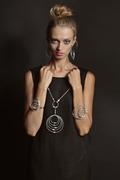 MPR Noir SS15_Rings Necklace