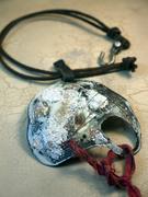 chunky_organic_white_enamel_necklace_leather reduced