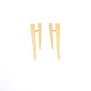 Double Brush Stroke Earrings