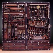 Cabinet maker's toolbox by Henry O. Studley