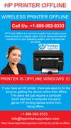 How to get rid of HP Printer Offline error?