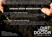 Dirt Doctor founder and 'Earth Whisperer' Jim O'Gorman comes to Wellington to host Urban Eden workshops!