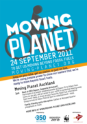 350.org presents Moving Planet Auckland- a Day to Move Beyond Fossil Fuels