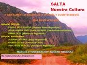 "I Certamen Literario Nacional e Internacional ""Salta Nuestra Cultura"" 2011"
