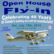 40th Anniversary Zenair Open House & Fly-In!