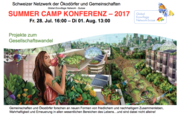 Global Ecovillage Network Sommercamp 28. Juli bis 1. August (auf Deutsch)