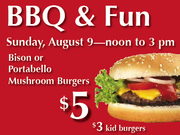 Co-op to Co-op Bike Ride and BBQ Sunday, August 9, noon–3 pm