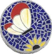 Mosaic Stepping Stones Class