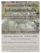 Community Garden Information Series