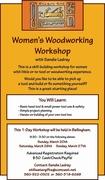 Women's Woodworking Workshop