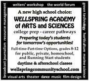 WELLSPRING ACADEMY OF ARTS AND SCIENCES
