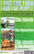 Land for Food, Food for People: An afternoon for land access and food sovereignty
