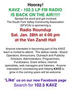 KAVZ RADIO ROUNDUP JAN 28