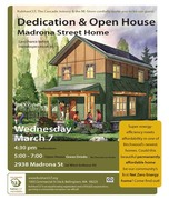 Madrona Street Home Open House