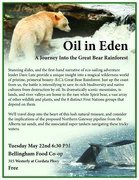 Oil In Eden: A Journey Into the Great Bear Rainforest