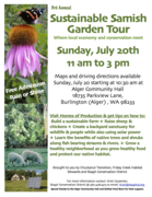 3rd Annual Sustainable Samish Garden Tour